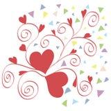 serce czerwony 2 Obrazy Royalty Free