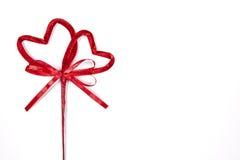 serce czerwony 2 zdjęcia stock