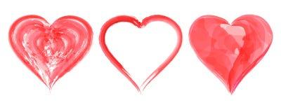 Serce dla walentynki ` s ślubów lub dnia Obrazy Stock