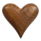 serce drewniany Zdjęcie Royalty Free