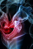 serce dym Obrazy Royalty Free