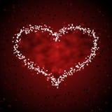 serce gwiazda Zdjęcie Royalty Free