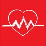 Serce, ikona, medycyny ikona, i Obraz Stock
