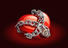 serce jest Zdjęcie Royalty Free