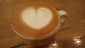 Serce jest dokąd kawa jest! obrazy royalty free