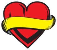 serce jest walentynki Zdjęcie Stock