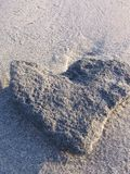 serce kamień Obraz Stock