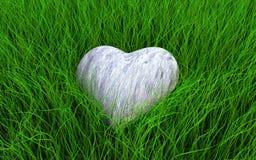 serce kamień Fotografia Royalty Free