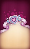 serce karty miłość kształtu walentynki fotografia royalty free