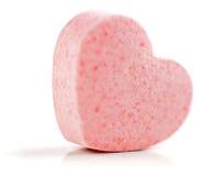 Serce kształtna Cukrowa pigułka. Obrazy Royalty Free