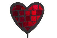 Serce kształtna dekoracja Fotografia Royalty Free