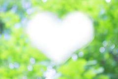 Serce kształtujący migot Fotografia Royalty Free