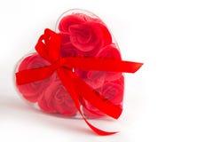 Serce Kształtujący pudełko Zdjęcia Royalty Free