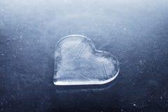 serce lód Obrazy Royalty Free