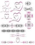 serce logo Zdjęcia Stock