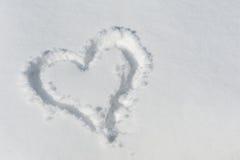 Snowheart Obraz Stock