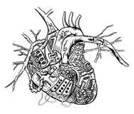 serce mechaniczne Obrazy Stock