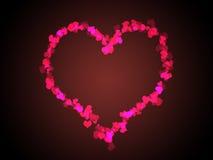 serce miłości Zdjęcie Royalty Free