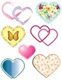 serce miłości Zdjęcie Stock