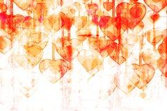 Serce na Folwarczka tle Ilustracji