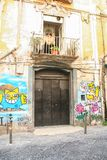 Serce Naples miasto Obraz Royalty Free