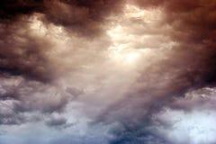 serce niebo Zdjęcia Stock