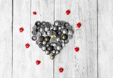 Serce od guzików Zdjęcie Stock