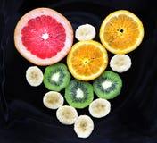 Serce od plasterków owoc Zdjęcia Royalty Free