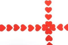 serce odizolowane abstrakcyjne Zdjęcie Stock