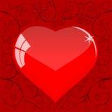 serce opuszczać pattern4 Ilustracji