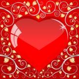 serce opuszczać pattern5 Royalty Ilustracja