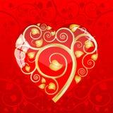 serce opuszczać pattern6 Ilustracji