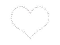 serce perły? royalty ilustracja
