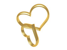 serce pierścionek Zdjęcia Stock