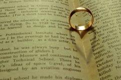 serce pierścionek Obraz Stock