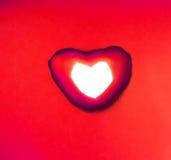 Serce pożarnicza czerwień Fotografia Stock