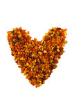 Serce pollen obrazy royalty free