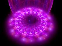 Serce różowy mandala Fotografia Royalty Free