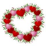 serce ramowy Fotografia Stock
