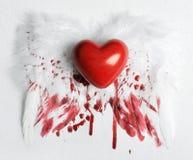 serce ranił Fotografia Royalty Free