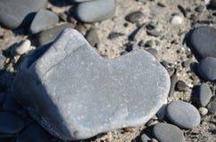 Serce skała zakłada na dniu ślubu w Maine Zdjęcia Stock