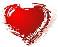 serce stylizujący ilustracji