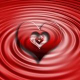 serce tła Zdjęcie Royalty Free