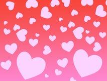 serce tła ilustracja wektor