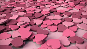 serce tła abstrakcyjne Fotografia Stock