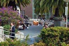 Serce w kącie Zrzeszeniowy kwadrat San francisco Zdjęcie Royalty Free