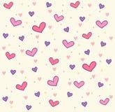 serce wzór Fotografia Stock