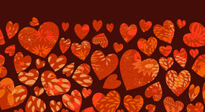 serce wzór Zdjęcia Stock