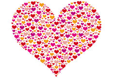serce wzór Zdjęcie Stock