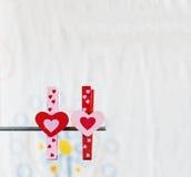 Serce z białym tłem Zdjęcia Royalty Free